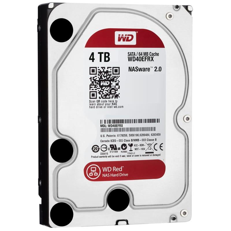 WD Red 4TB 3.5 SATA 64MB