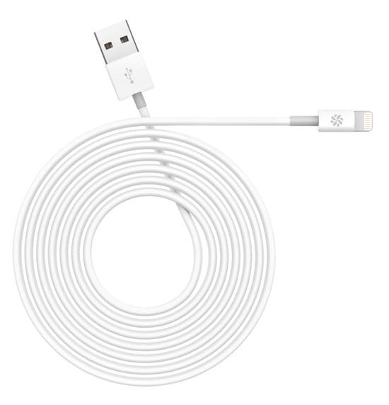 kanex lightning 2m cable white
