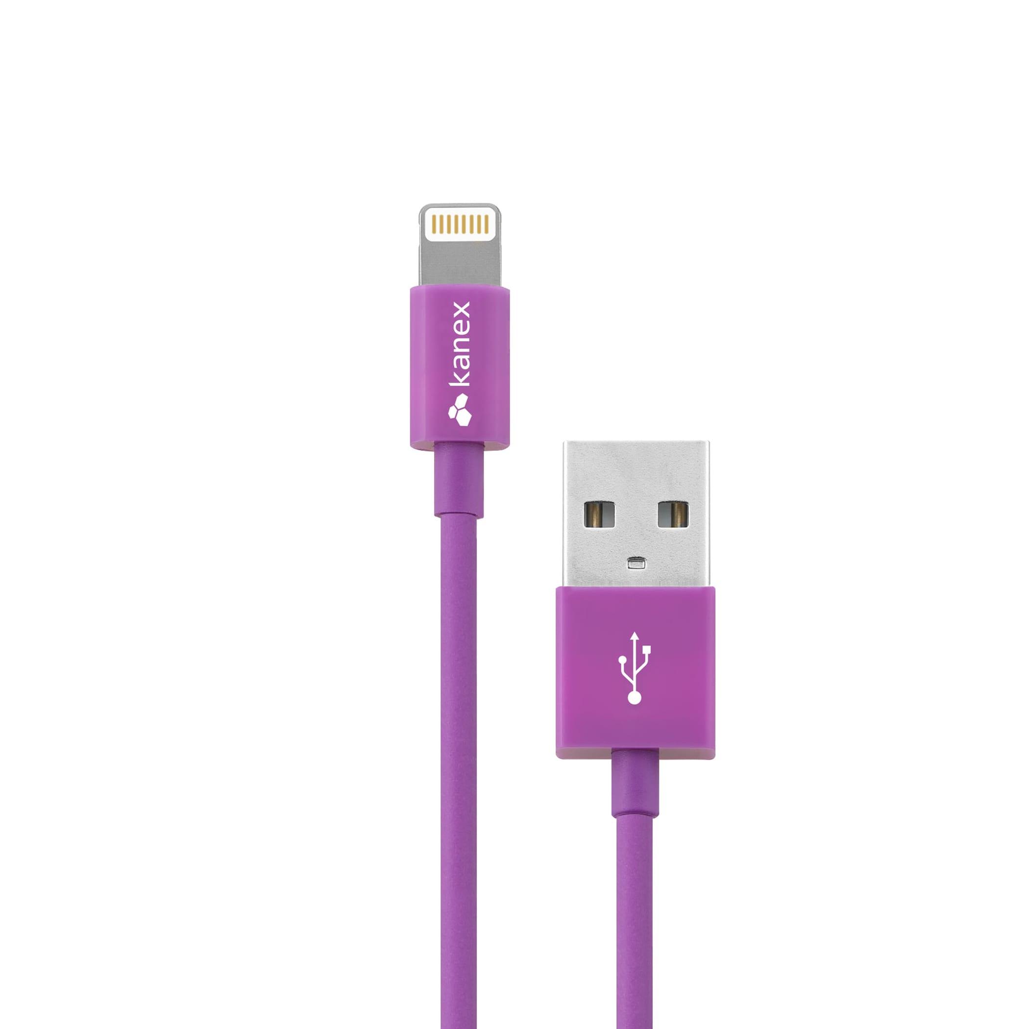 Kanex Lightning 1.2m Cable Purple