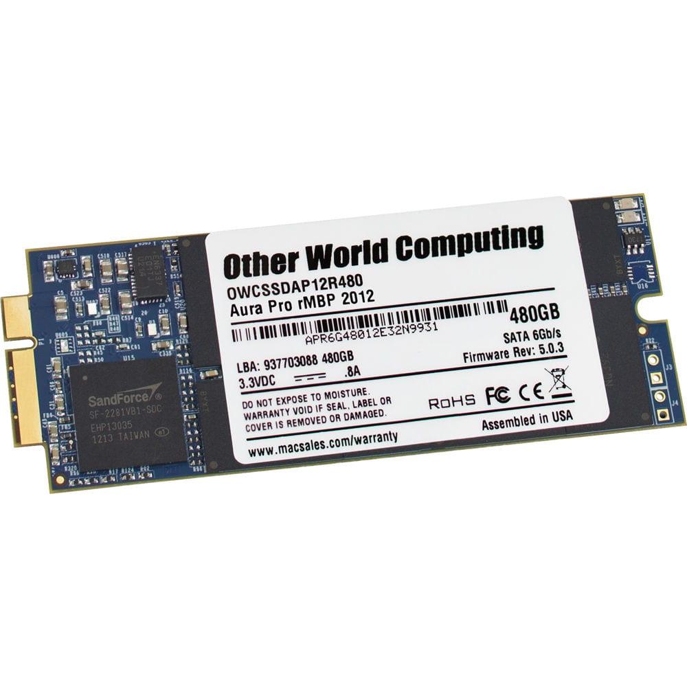 OWC AURA 480GB MSATA MBP | RET 2012