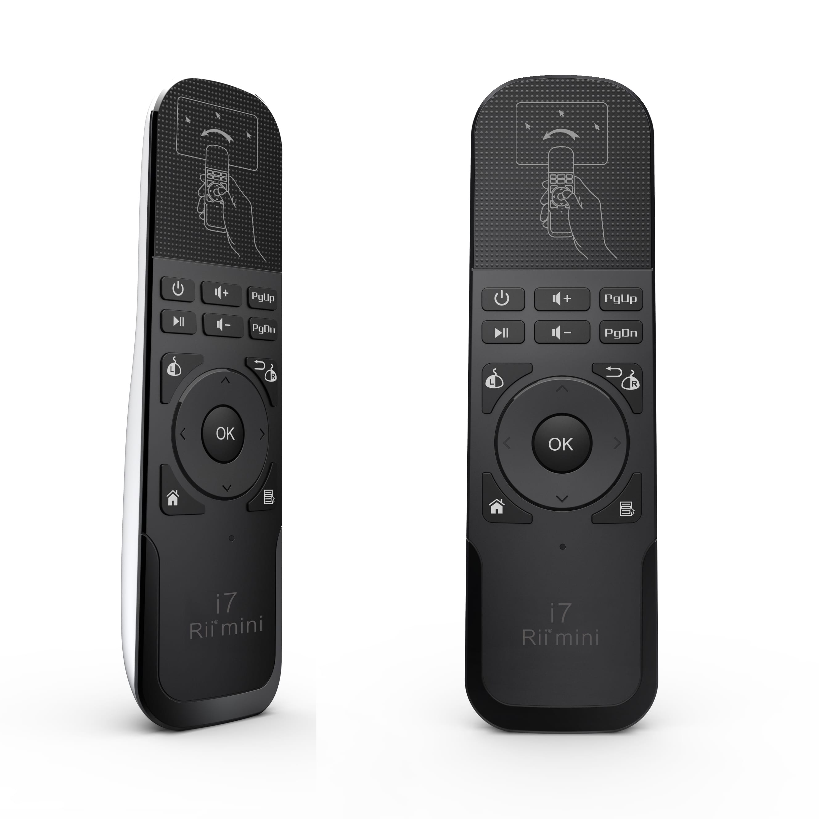 dc98088b2d0 Rii Wireless Air Mouse Remote Black and White - Syntech