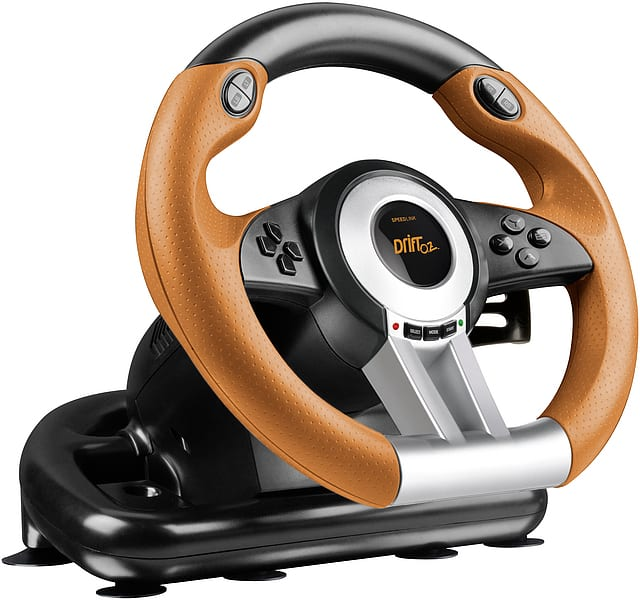 speedlink drift oz pc racing wheel syntech. Black Bedroom Furniture Sets. Home Design Ideas