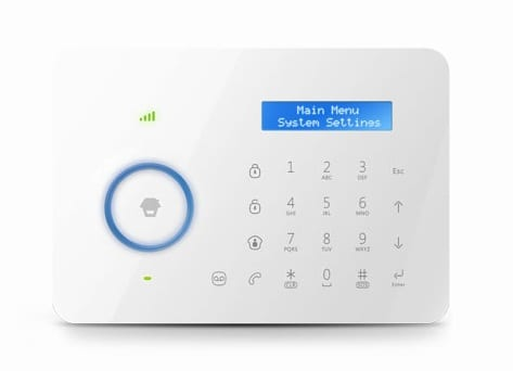 Chuango Dual Network Touch Alarm System