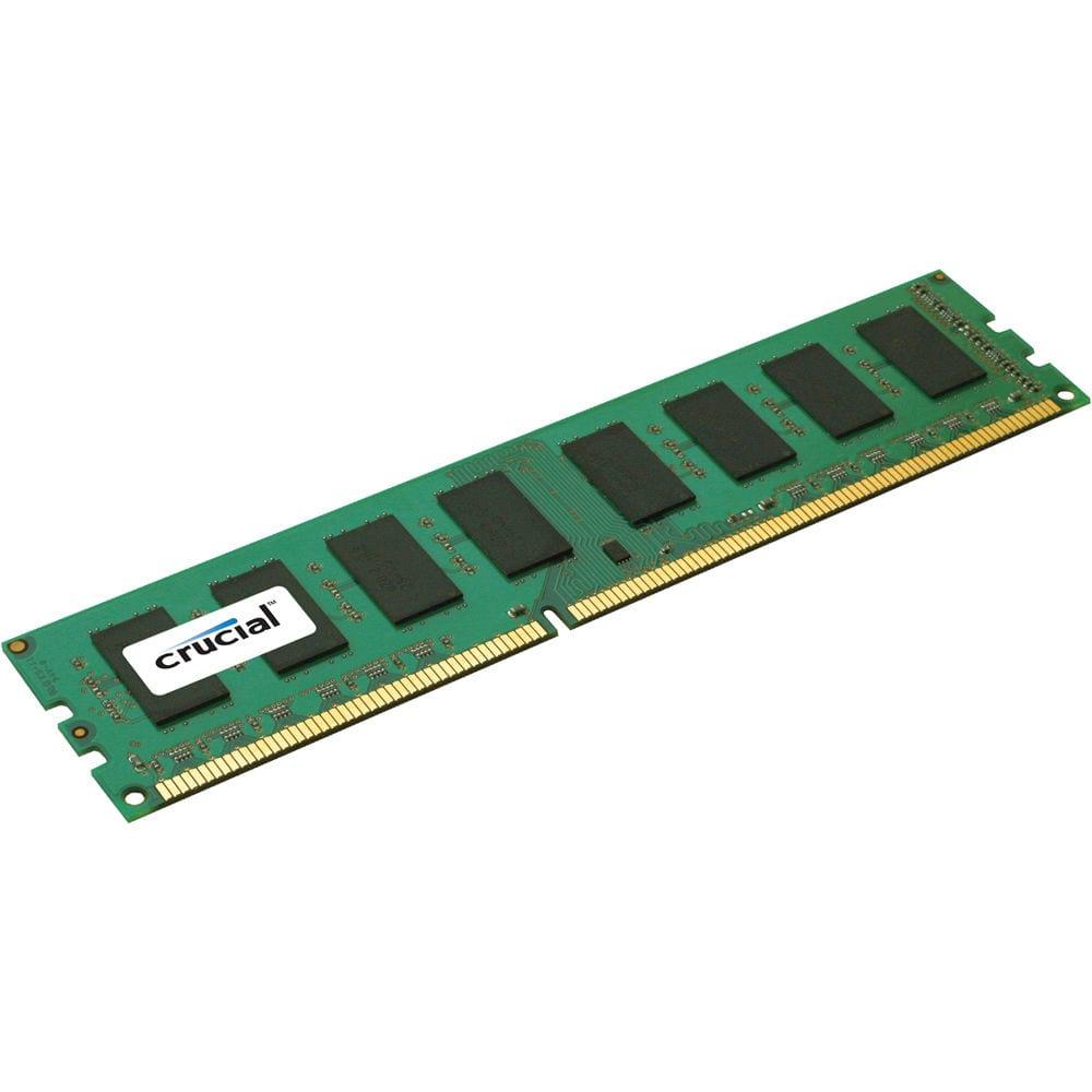 Crucial 4GB DDR3 1600MHz ECC Unbuffered Dimm