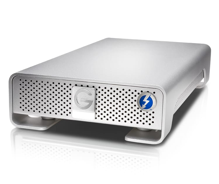 G-TECH G-DRIVE THUNDERBOLT USB3.0 4TB
