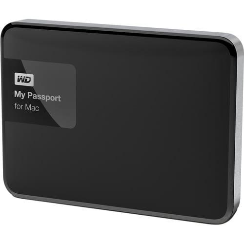 WD MyPassport 3TB MAC USB3.0 Black