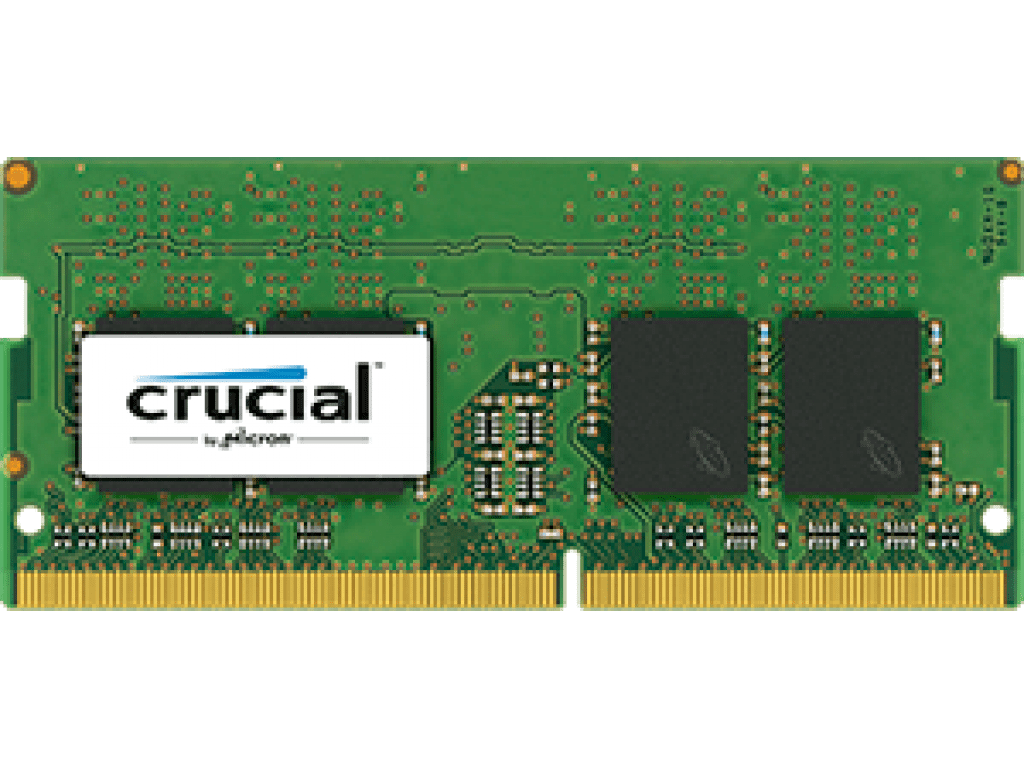 Crucial 8GB DDR4 2133MHz SO-DIMM Dual Rank