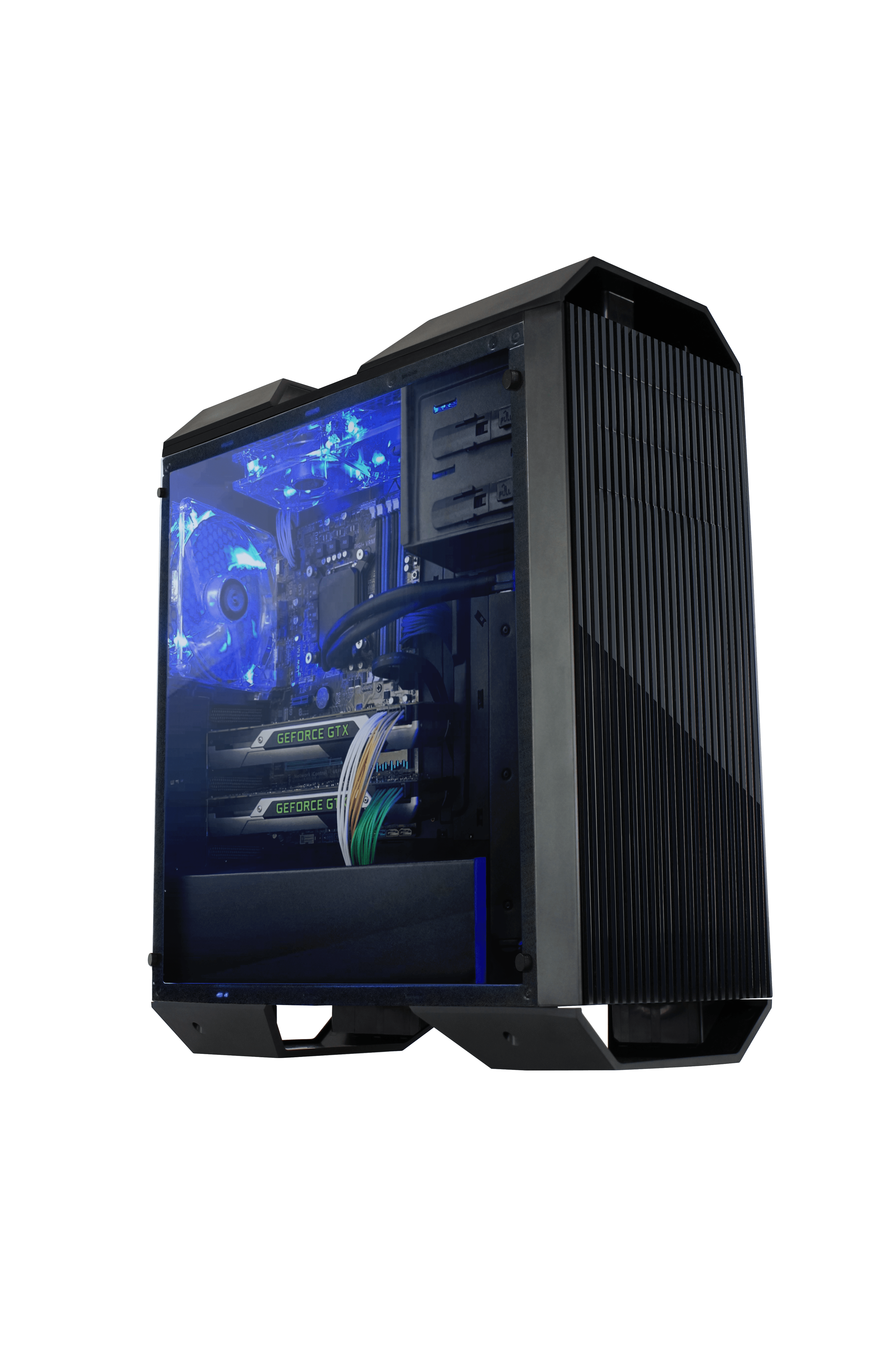 Raidmax MonsterII Gaming Chassis Black With Window