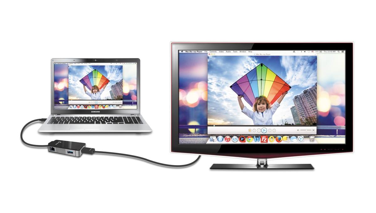 J5 Create USB3.0 to USB3.0 Gigabit Ethernet HDMI Adapter ...