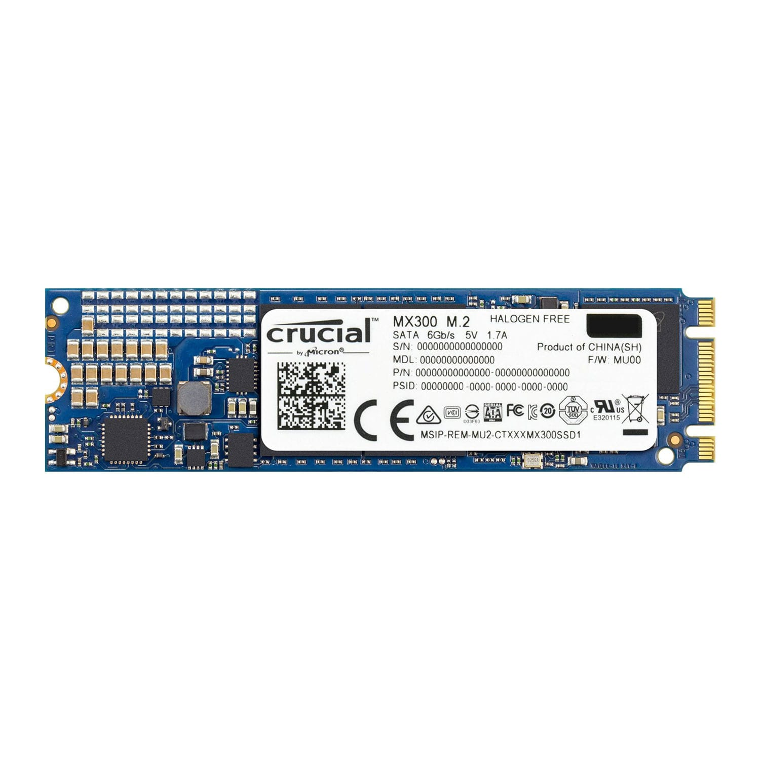 Crucial MX300 1050GB M.2 2280DS SSD