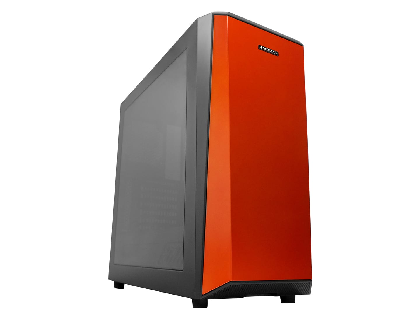 Raidmax Delta I Gaming Chassis Black and Orange With Window