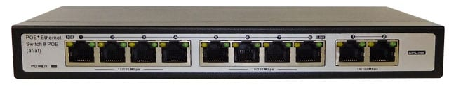 8-Port 10/100Mbps PoE Switch