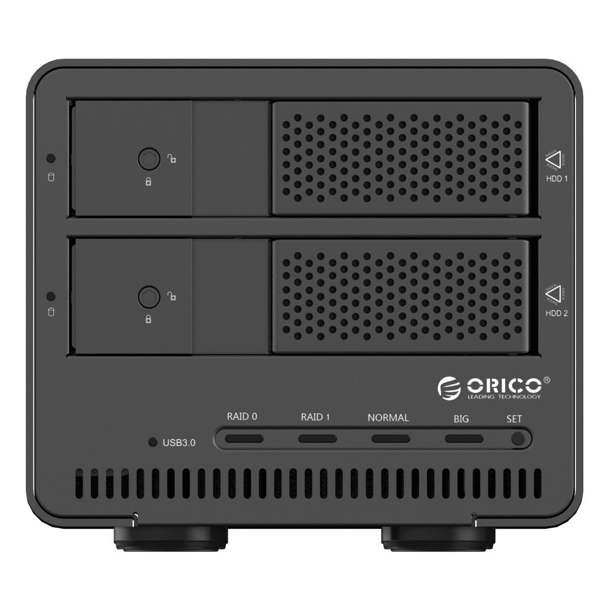 Orico 2 Bay 3 5 Usb3 0 External Raid Hdd Enclosure Black