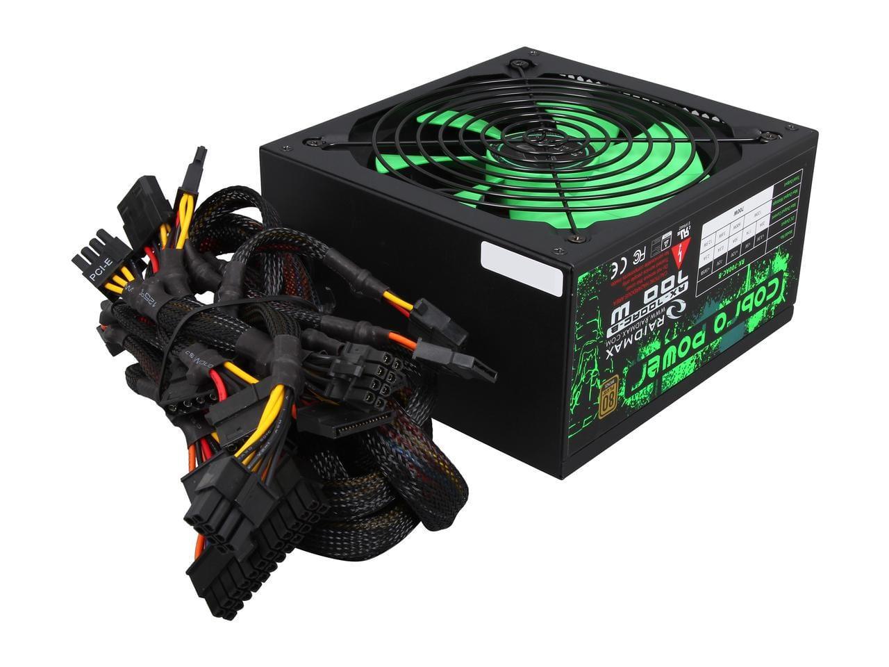 Raidmax Cobra 700w Bronze Non Modular Psu Syntech