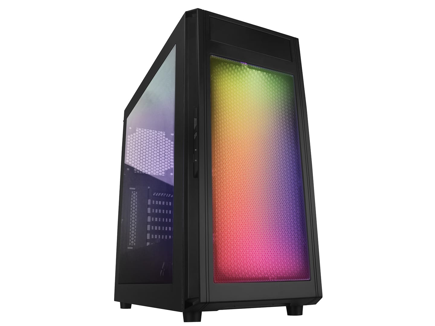 Raidmax Alpha Gaming Chassis RGB Black With Window