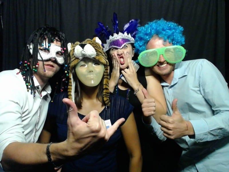 Syntech JHB Staff - Fun time photo by Mobile Photobooth