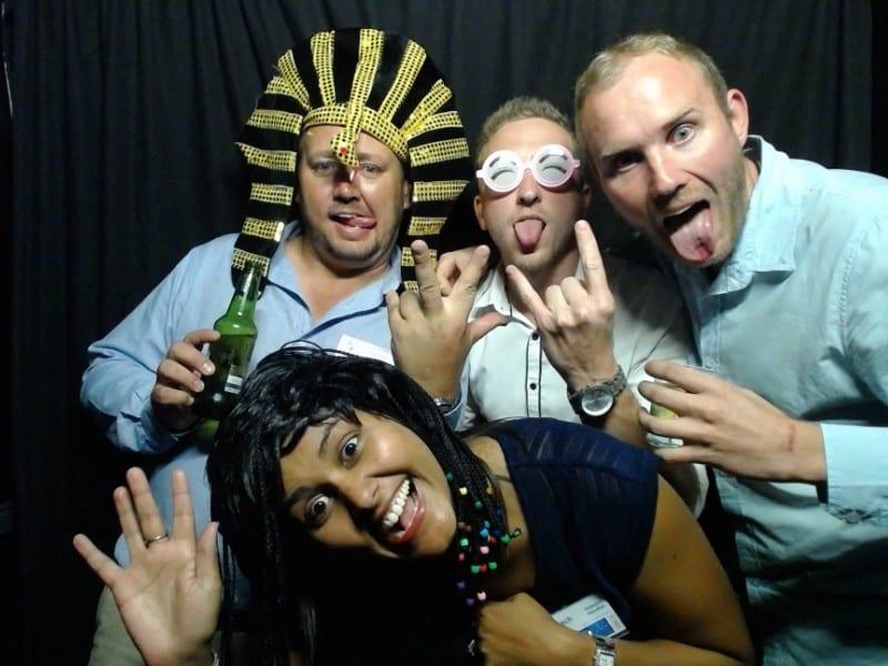 Syntech Staff - JHB team Having fun