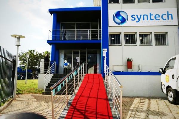 red carpet Syntech JHB premises