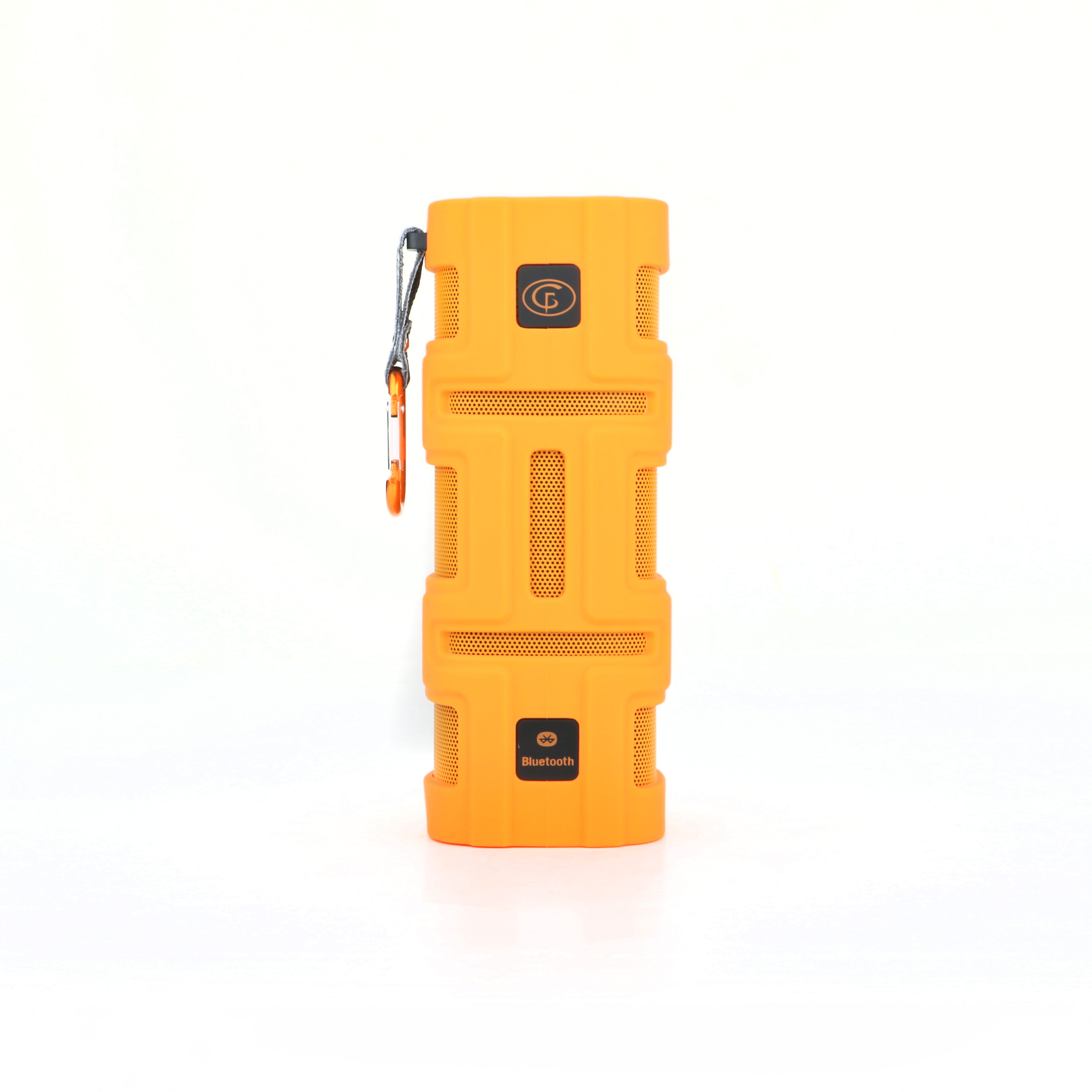 Orange GoFreeTech Bluetooth speaker