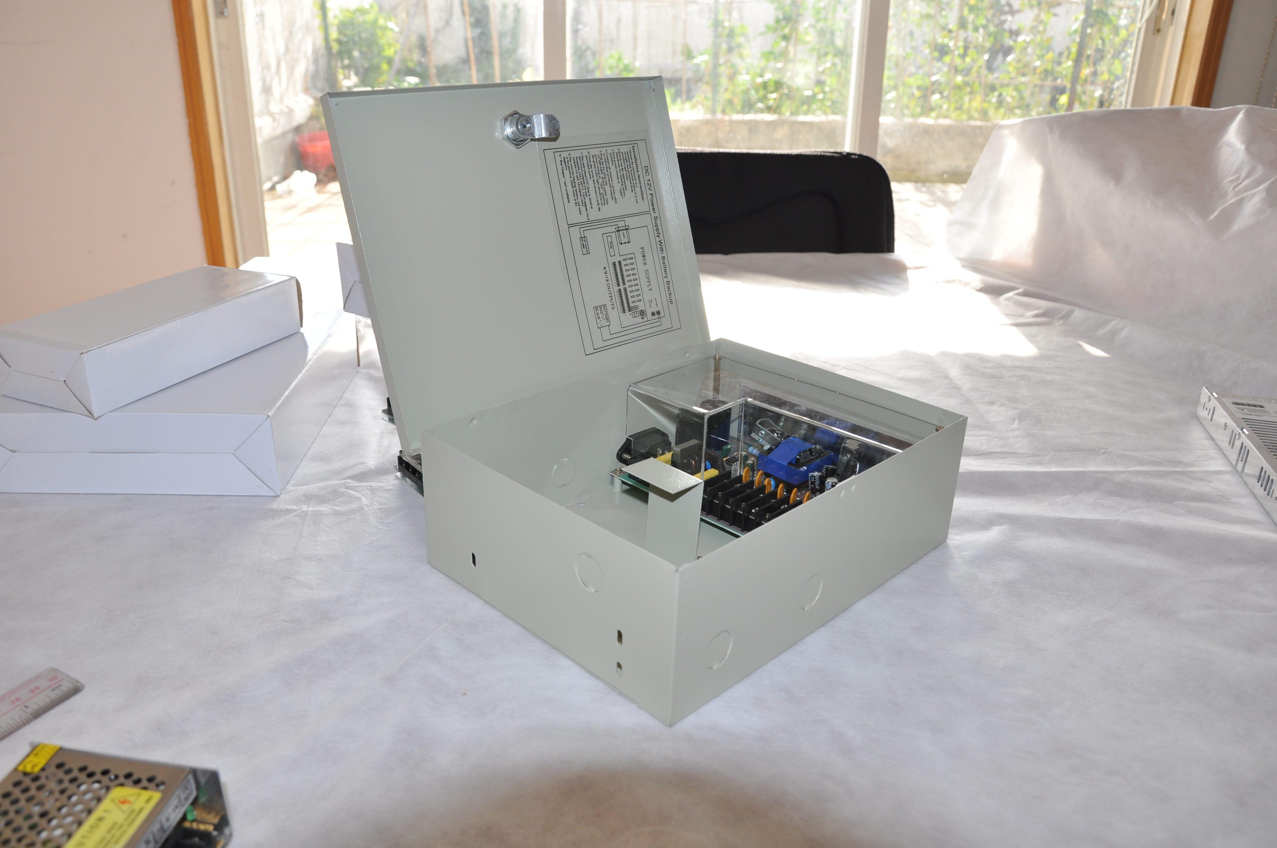 PD Power 5CH PSU 12V 10A PTC/WO Battery