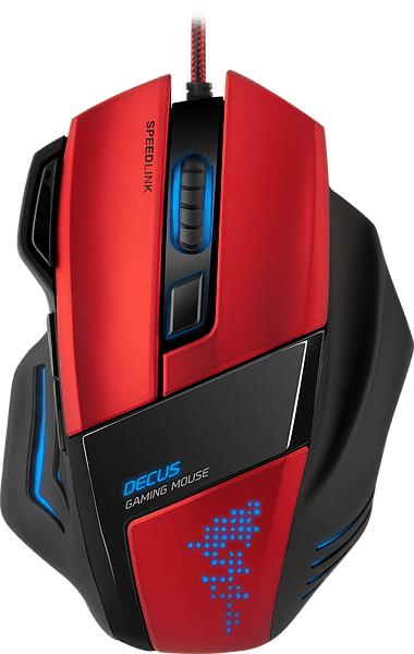 Speedlink DECUS Gaming Mouse Black and Red
