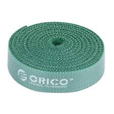 Orico velcro cable ties 1m Green