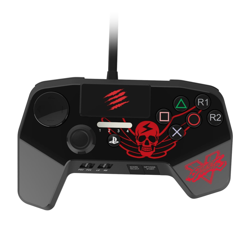 SparkFox Madcatz Controller Black - PS3/PS4