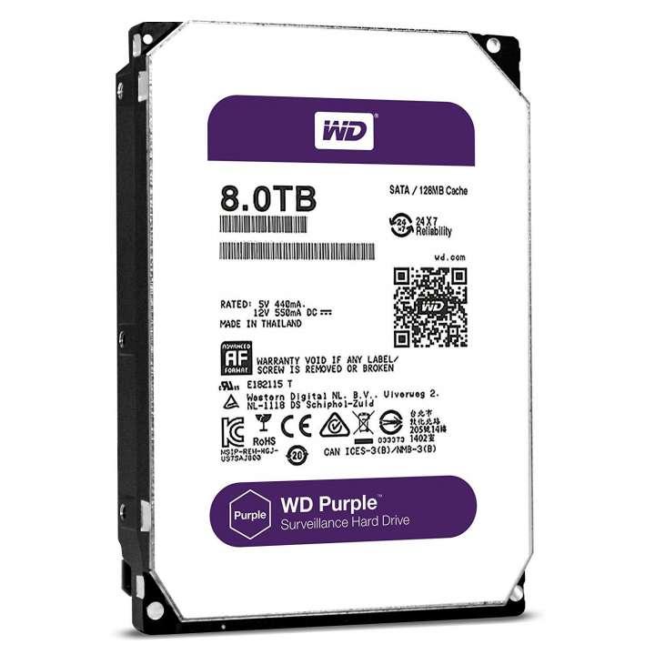 WD Purple 8TB 3.5 SATA 128MB