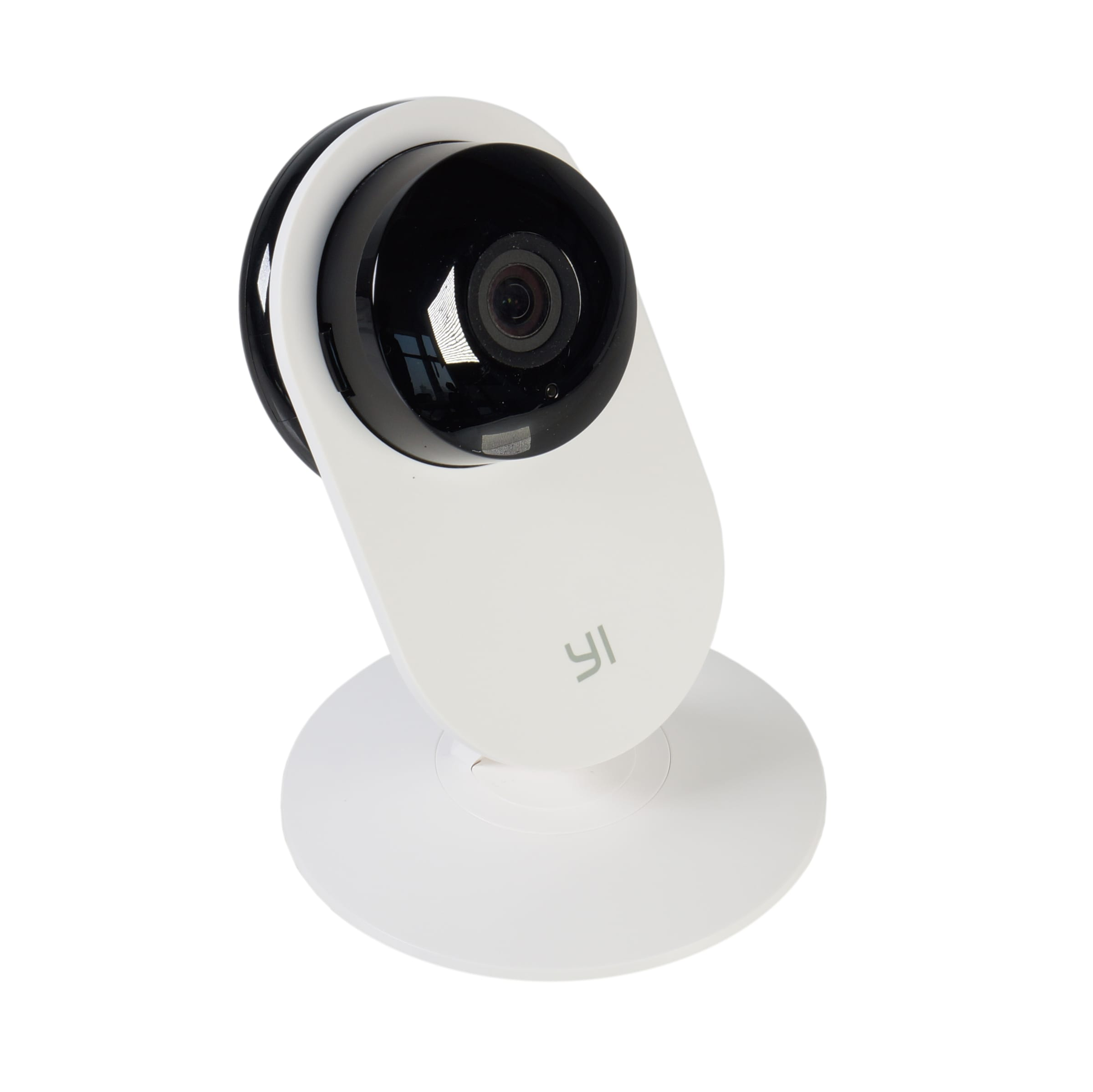 YI Smart Home Static 720P 111 Micro SD Slot Camera White