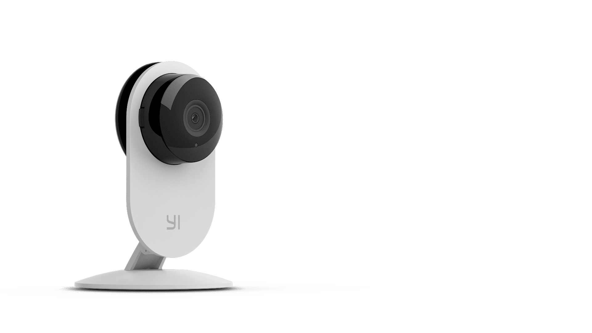 YI Smart Home Static 1080P 130 Micro SD Slot Camera Whit - Syntech