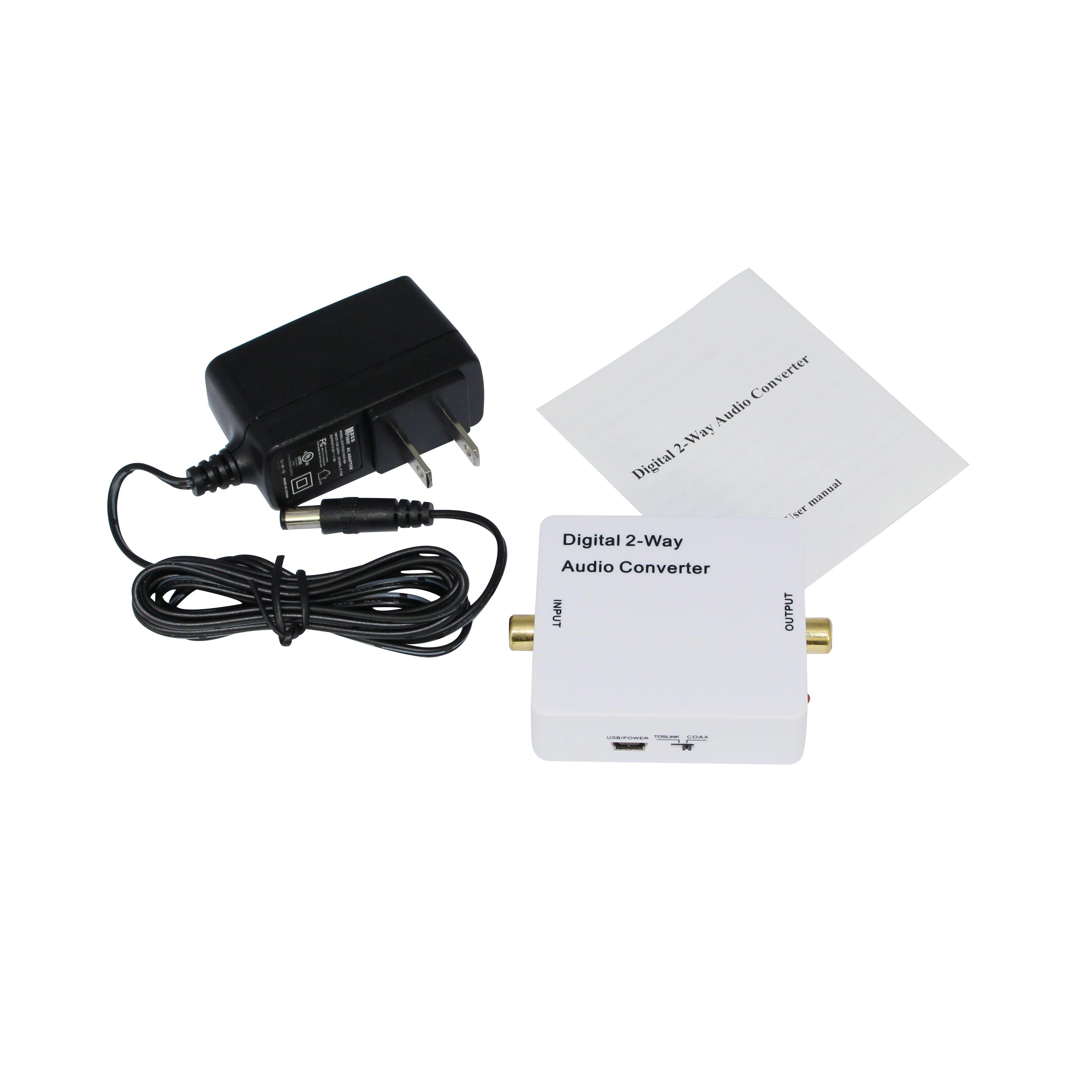 Hdcvt Digital 2 Way Audio Converter Syntech Toslink Switch Sku Hda 2ct