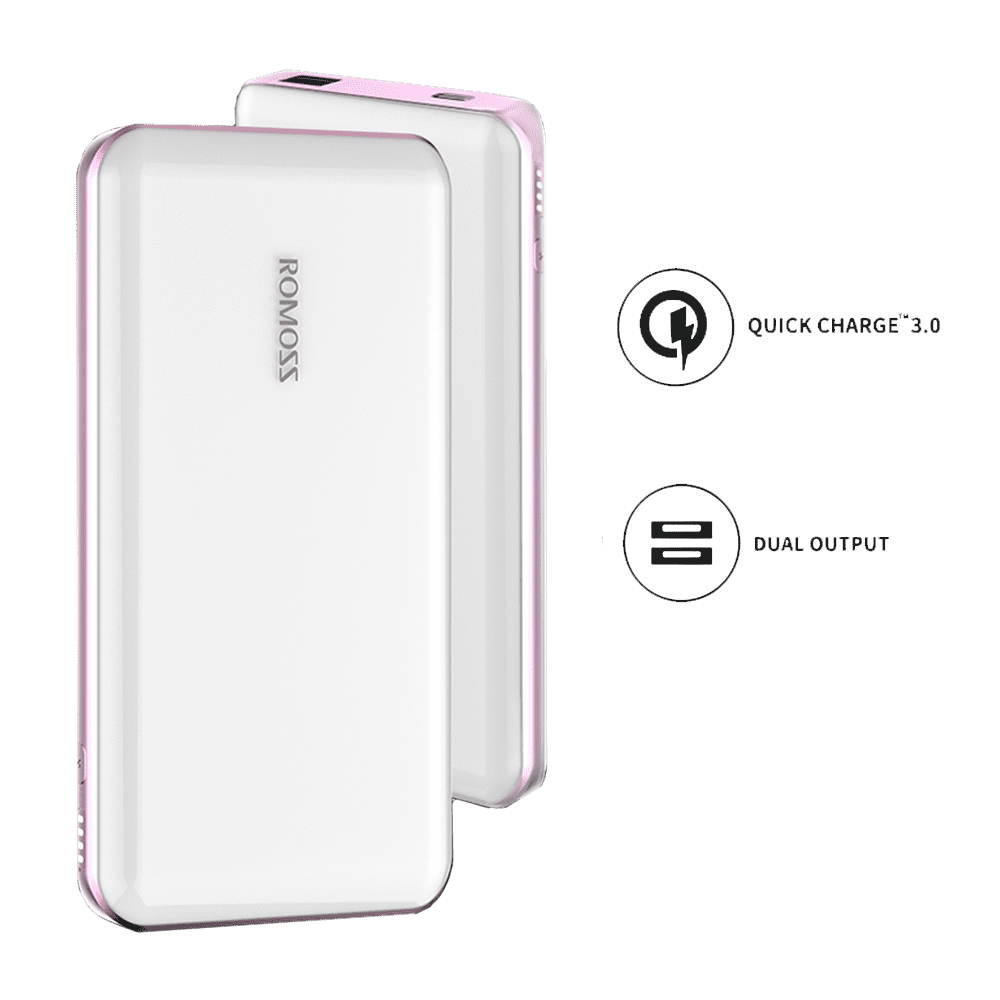 Romoss Eternity Pro 10000mah Power Bank White Syntech Ultra Port Charger 2 Usb Fast Charging Compare