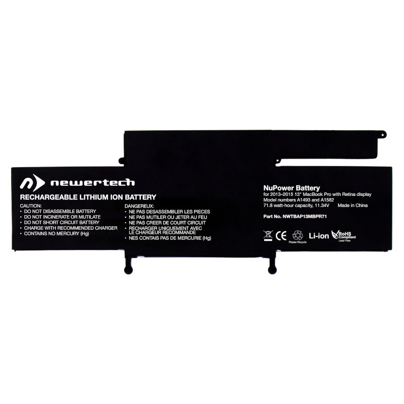 Newertech-NWTBAP13MBPR72I-Newertech-NWTBAP13MBPR72I-NWTBAP13MBPR72I-Accessories, Chargers and Power, Replacement Batteries   Laptop Mechanic