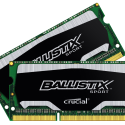 Crucial Ballistix Sport 8GB kit (2x4GB) 1866MHz DDR3 Gaming Memory