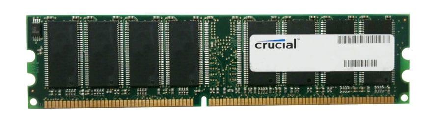 Crucial 1GB 400MHz DDR Desktop Memory