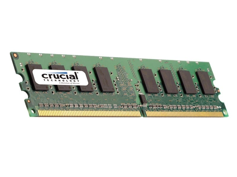 Crucial 16GB DDR3 1600MHz Dual Rank Registered Dimm
