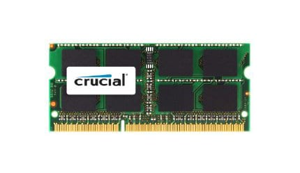 Crucial 2GB 1333MHz MAC SO-Dimm Memory
