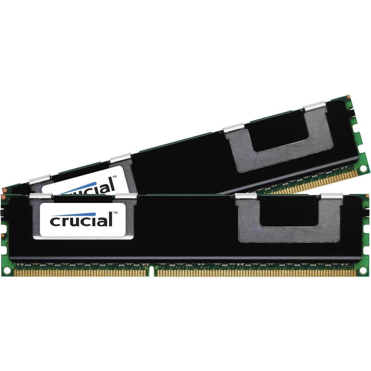 Crucial 16GB kit (2x8GB) 1600MHz DDR3L VLP RDIMM Memory