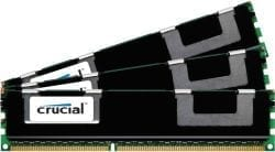 Crucial 24GB kit (3x8GB) 1866MHz DDR RDIMM Memory