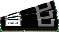 Crucial 24GB kit (3x8GB) 1600MHz DDR3L VLP RDIMM Memory