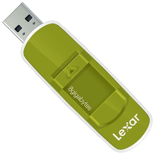 how to wipe lexar flash drive