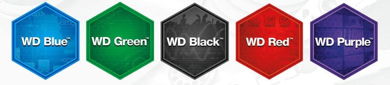 WD Power of Choice Colours